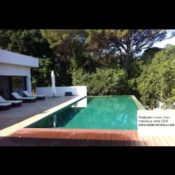 Mosaique piscine vert gazon 3006 31.6x31.6 cm -   - Echantillon AlttoGlass