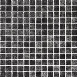 Mosaique piscine nuancée noir antidérapante 3101 31.6x31.6 cm -   - Echantillon AlttoGlass