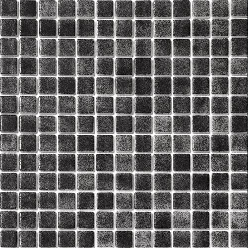 Mosaique piscine nuancée noir antidérapante 3101 31.6x31.6 cm -   - Echantillon - zoom