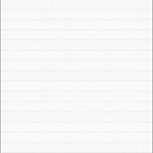 Mosaique piscine Lisa blanc 2001 31.6x31.6 cm -   - Echantillon - zoom