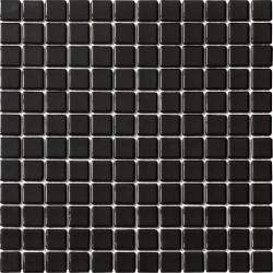 Mosaique piscine Lisa noir 2010 31.6x31.6 cm -   - Echantillon AlttoGlass
