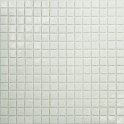 Mosaique piscine Blanche A11 20x20mm -   - Echantillon Ston