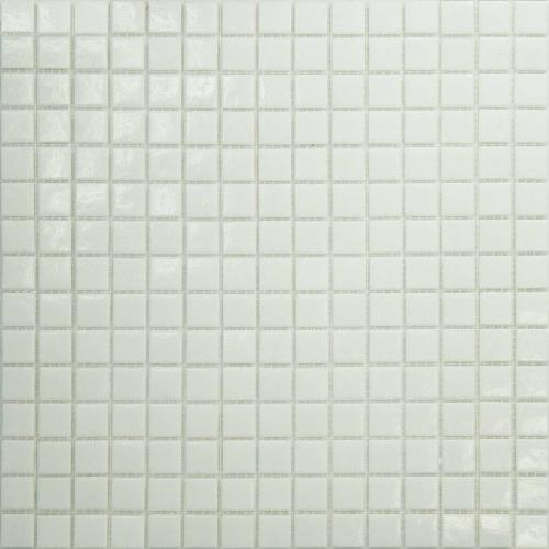 Mosaique piscine Blanche A11 20x20mm -   - Echantillon - zoom