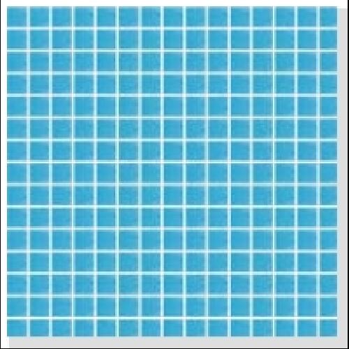 Mosaique piscine Bleu A32 20x20mm -   - Echantillon - zoom