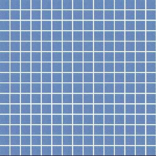 Mosaique piscine Bleu A35 20x20mm -   - Echantillon - zoom