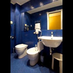 Mosaique piscine Bleu A35 20x20mm -   - Echantillon Ston