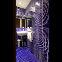 Mosaique piscine Bleu marine A37 20x20mm -   - Echantillon Ston