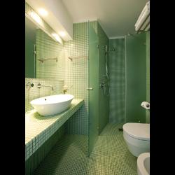 Mosaique piscine Vert amande A48 20x20mm -   - Echantillon Ston