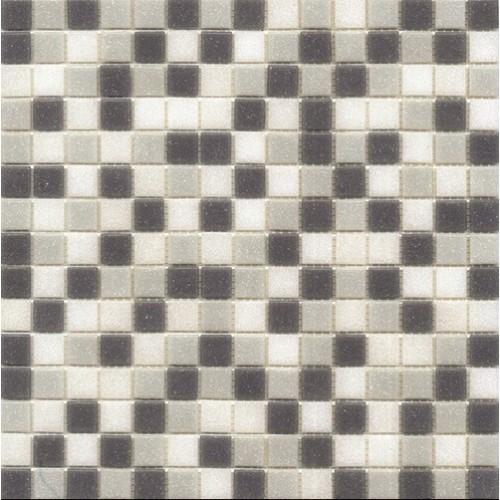 Mosaique piscine Mix de Gris bleuté GREY 32.7x32.7 cm -   - Echantillon Ston