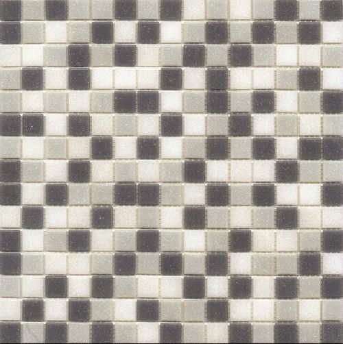 Mosaique piscine Mix de Gris bleuté GREY 32.7x32.7 cm -   - Echantillon - zoom
