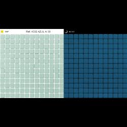Mosaique piscine bleu phosphorescent 4502 31.6x31.6 cm -   - Echantillon AlttoGlass