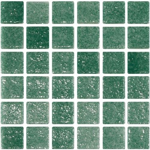 Mosaique verte 5x5 sur trame 3 x3  REF.503 A-11 -   - Echantillon ASDC