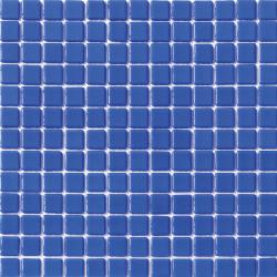 Mosaique piscine unie bleu azur 2003 31.6x31.6 cm -   - Echantillon AlttoGlass
