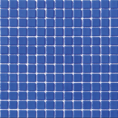Mosaique piscine unie bleu azur 2003 31.6x31.6 cm -   - Echantillon - zoom