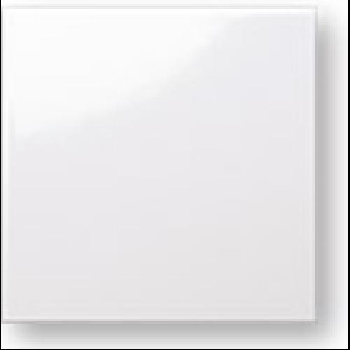 Faience colorée Carpio blanc brillant 20x20 cm -   - Echantillon Ribesalbes