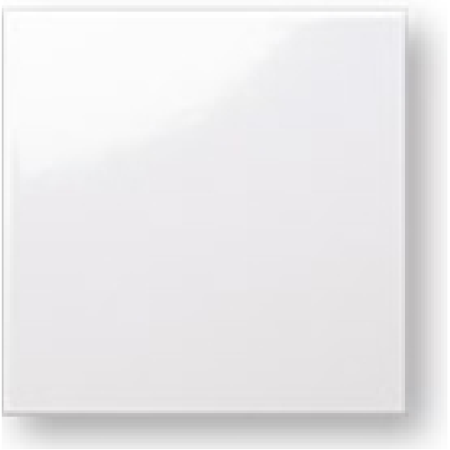 Faience colorée Carpio blanc brillant 20x20 cm -   - Echantillon - zoom