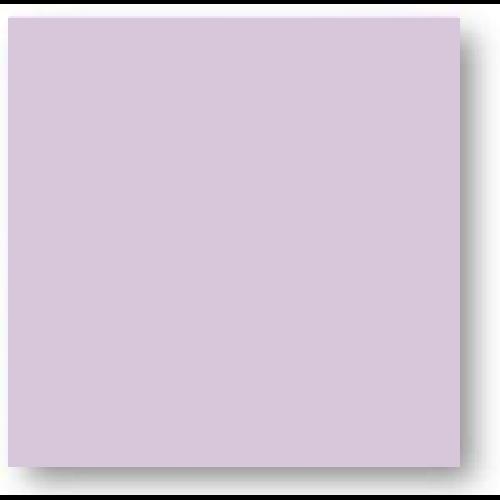 Faience colorée mauve Carpio Lila brillant ou mat 20x20 cm -   - Echantillon Ribesalbes