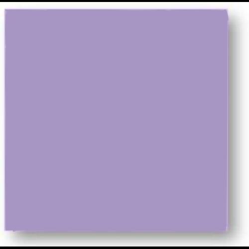 Faience colorée mauve Carpio Purpura brillant ou mat 20x20 cm -   - Echantillon Ribesalbes