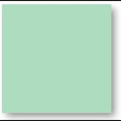 Faience colorée vert clair Carpio Verde brillant ou mat 20x20 cm -   - Echantillon Ribesalbes
