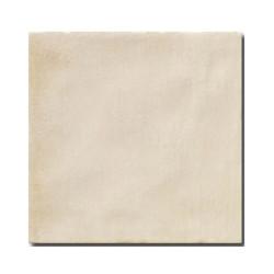 Faience rustique patinée BEIGE 15x15 cm -   - Echantillon El Barco