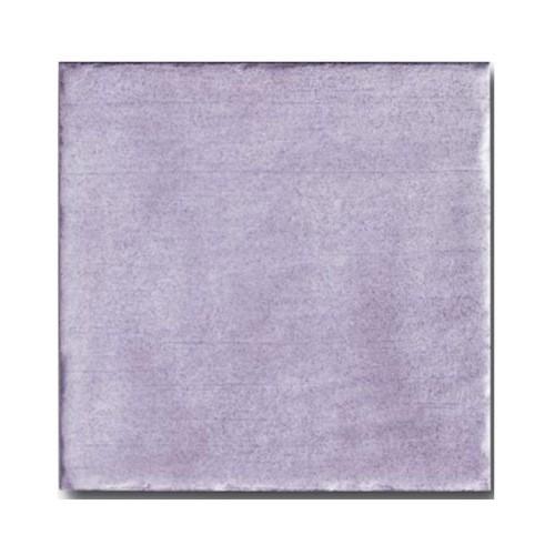 Faience rustique patinée LILA 15x15 cm -   - Echantillon - zoom