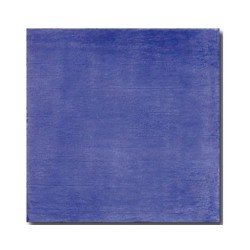 Faience rustique patinée BLEU MARINE 15x15 cm -   - Echantillon El Barco