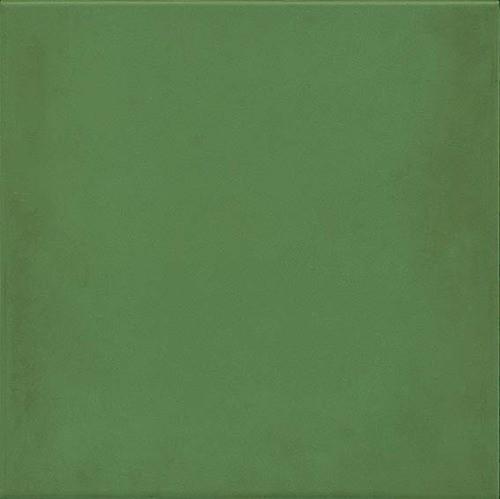 Carrelage uni vieilli 20x20 cm 1900 Verde -   - Echantillon - zoom