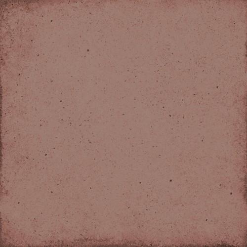 Carrelage uni vieilli rouge 20x20 cm ART NOUVEAU BURGUNDY 24394 -   - Echantillon - zoom