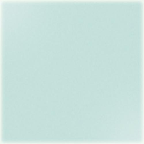 Carrelage uni 20x20 cm vert opaline brillant TUNDRA -   - Echantillon CE.SI
