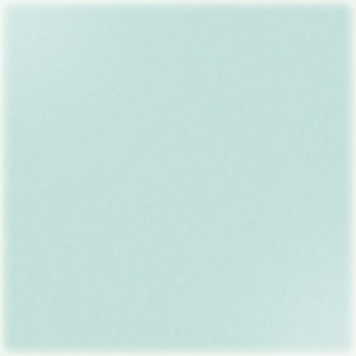 Carrelage uni 20x20 cm vert opaline brillant TUNDRA -   - Echantillon - zoom