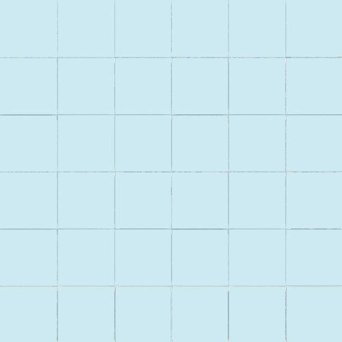 Carrelage uni 5x5 cm AZZURO MATT sur trame -   - Echantillon CE.SI