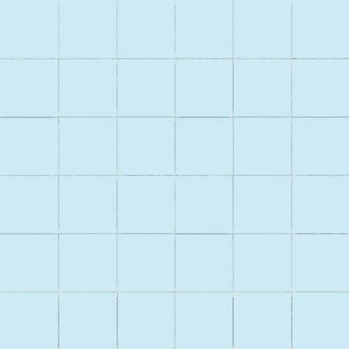 Carrelage uni 5x5 cm AZZURO MATT sur trame -   - Echantillon - zoom