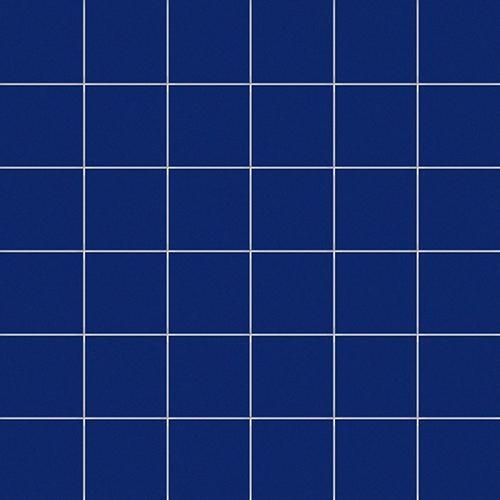 Carrelage uni 5x5 cm COBALTO MATT sur trame -   - Echantillon - zoom