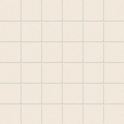 Carrelage uni beige 5x5 cm COTONE MATT -   - Echantillon CE.SI