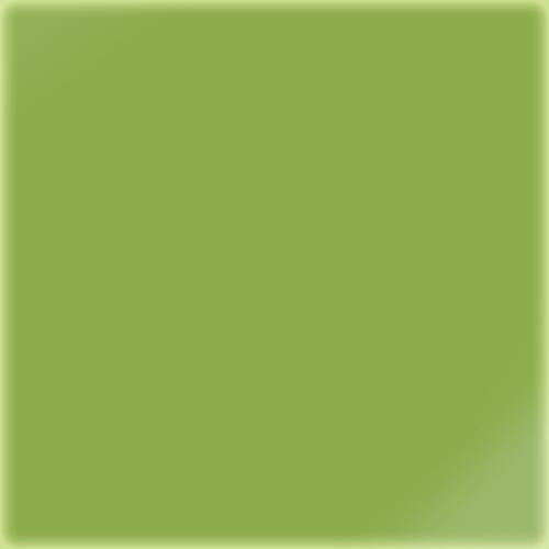 Carrelage uni 5x5 cm vert absi brillant LIME sur trame -   - Echantillon CE.SI