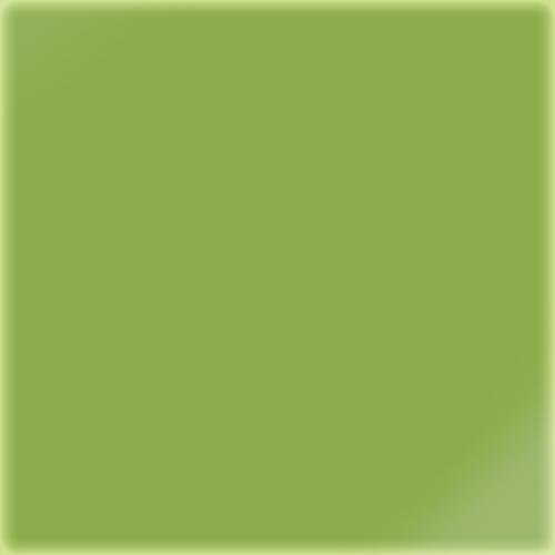 Carrelage uni 5x5 cm vert absi brillant LIME sur trame -   - Echantillon - zoom
