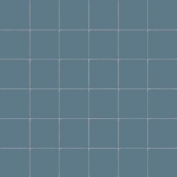 Carrelage uni 5x5 cm PIOGGIA MATT sur trame -   - Echantillon CE.SI