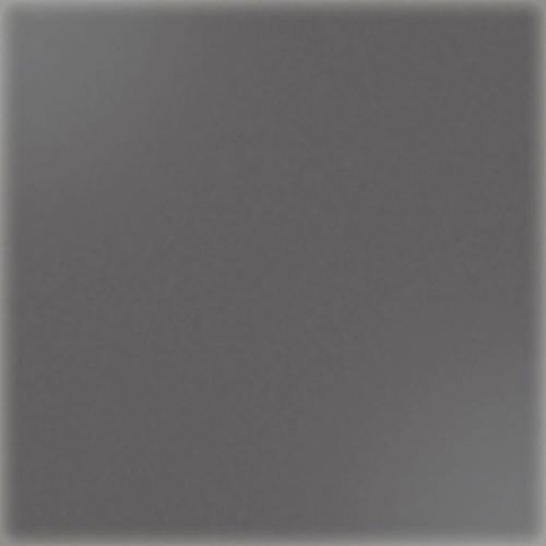 Carrelage uni 5x5 cm gris foncé brillant PIRITE sur trame -   - Echantillon CE.SI