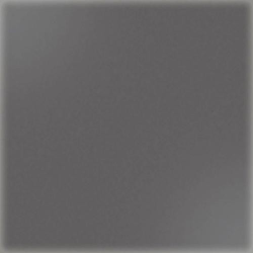 Carrelage uni 5x5 cm gris foncé brillant PIRITE sur trame -   - Echantillon - zoom