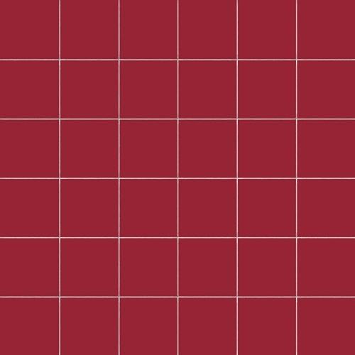 Carrelage uni 5x5 cm RUBINO MATT sur trame -   - Echantillon CE.SI