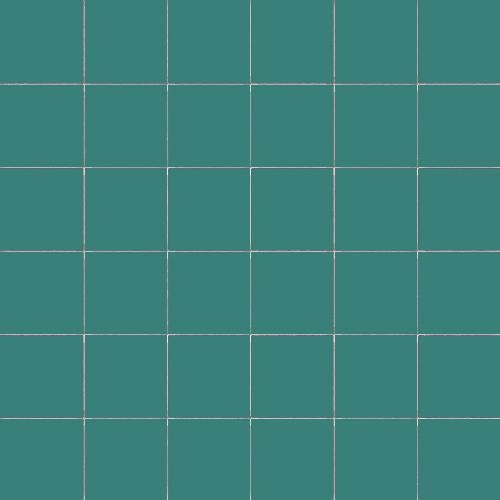 Carrelage uni 5x5 cm SALVIA MATT sur trame -   - Echantillon - zoom