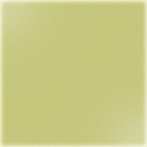 Carrelage uni 5x5 cm vert jaune brillant TITANIO sur trame -   - Echantillon - zoom