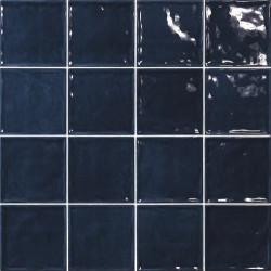 Carrelage effet zellige bleu 15x15 CHIC MARINO -   - Echantillon El Barco