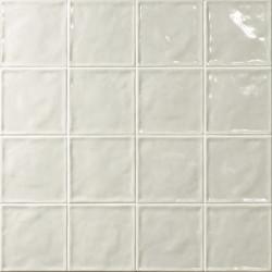 Carrelage effet zellige blanc 15x15 CHIC NEUTRO -   - Echantillon El Barco