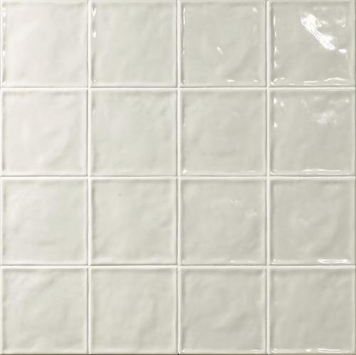 Carrelage effet zellige blanc 15x15 CHIC NEUTRO -   - Echantillon - zoom