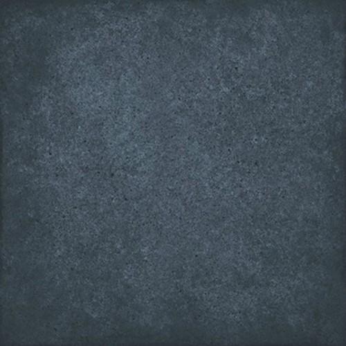 Carrelage uni vieilli bleu 20x20 cm ART NOUVEAU NAVY BLUE 24397 -   - Echantillon - zoom