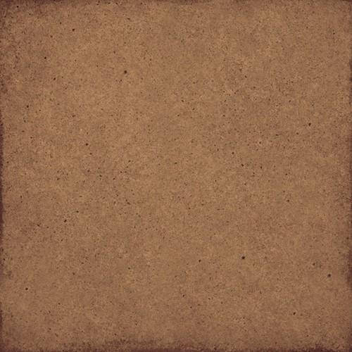 Carrelage uni vieilli sienne 20x20 cm ART NOUVEAU SIENA 24391 -   - Echantillon - zoom