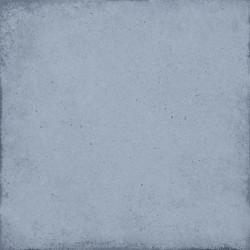 Carrelage uni vieilli bleu ciel 20x20 cm ART NOUVEAU SKY BLUE 24389 -   - Echantillon Equipe