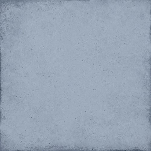 Carrelage uni vieilli bleu ciel 20x20 cm ART NOUVEAU SKY BLUE 24389 -   - Echantillon - zoom