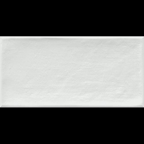 Faience murale blanche patinée ETNIA 10x20cm -   - Echantillon - zoom